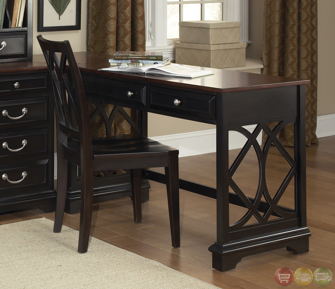 St Ives Traditional L Shaped Home Office Furniture Set