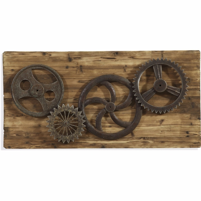 Steam Punk Industrial Gear Era Easy Living Wall Art 7500-620EC
