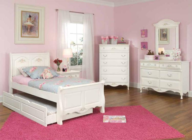 summerset white trundle bedroom set free shipping