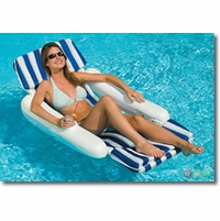 Sunchaser Padded Floating Lounge Pool Float - NT140