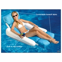 Sunchaser Sunsoft Luxury Comfort Pool Float - NT142