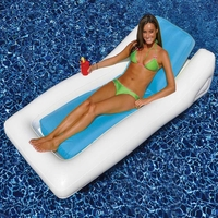 Sunsoft Hybrid Pool Lounger Float Blue - NT1492