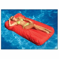 Sunsoft Mattress Red Pool Float Lounge - NT1467