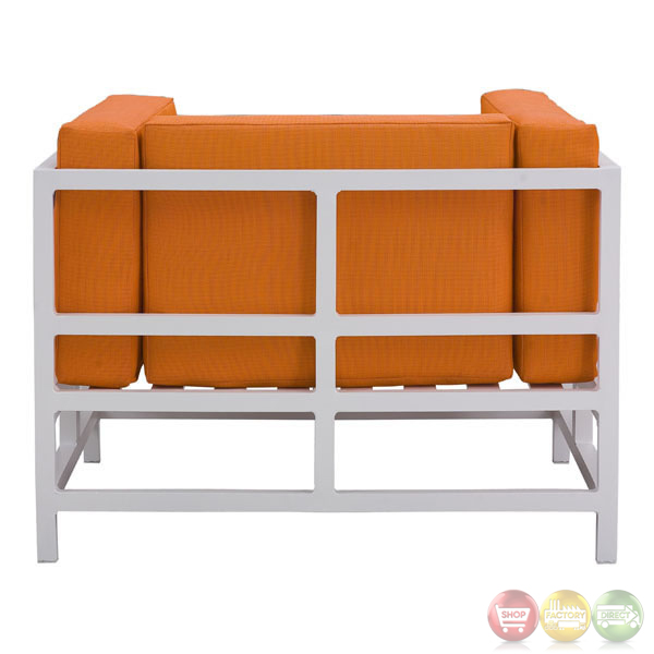 Swordfish Orange Arm Chair Zuo Modern Modern Outdoor Furniture Free Sh