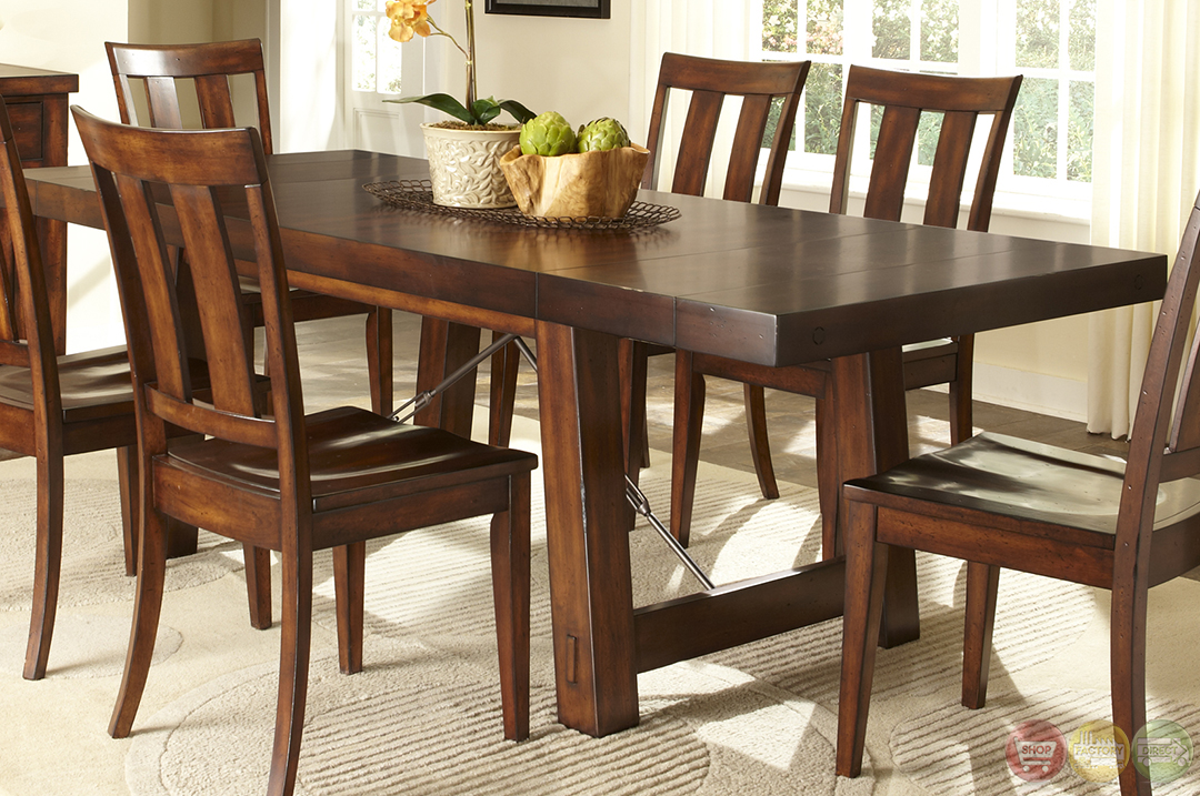28+ [ dining room sets rustic ] | rustic large dining room table