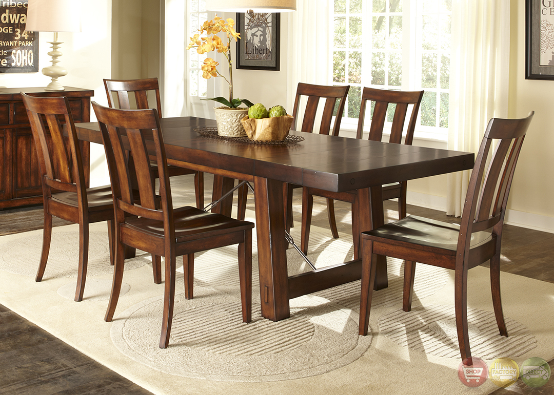 28+ [ mahogany dining room set ] | metropolitan mahogany 7pc