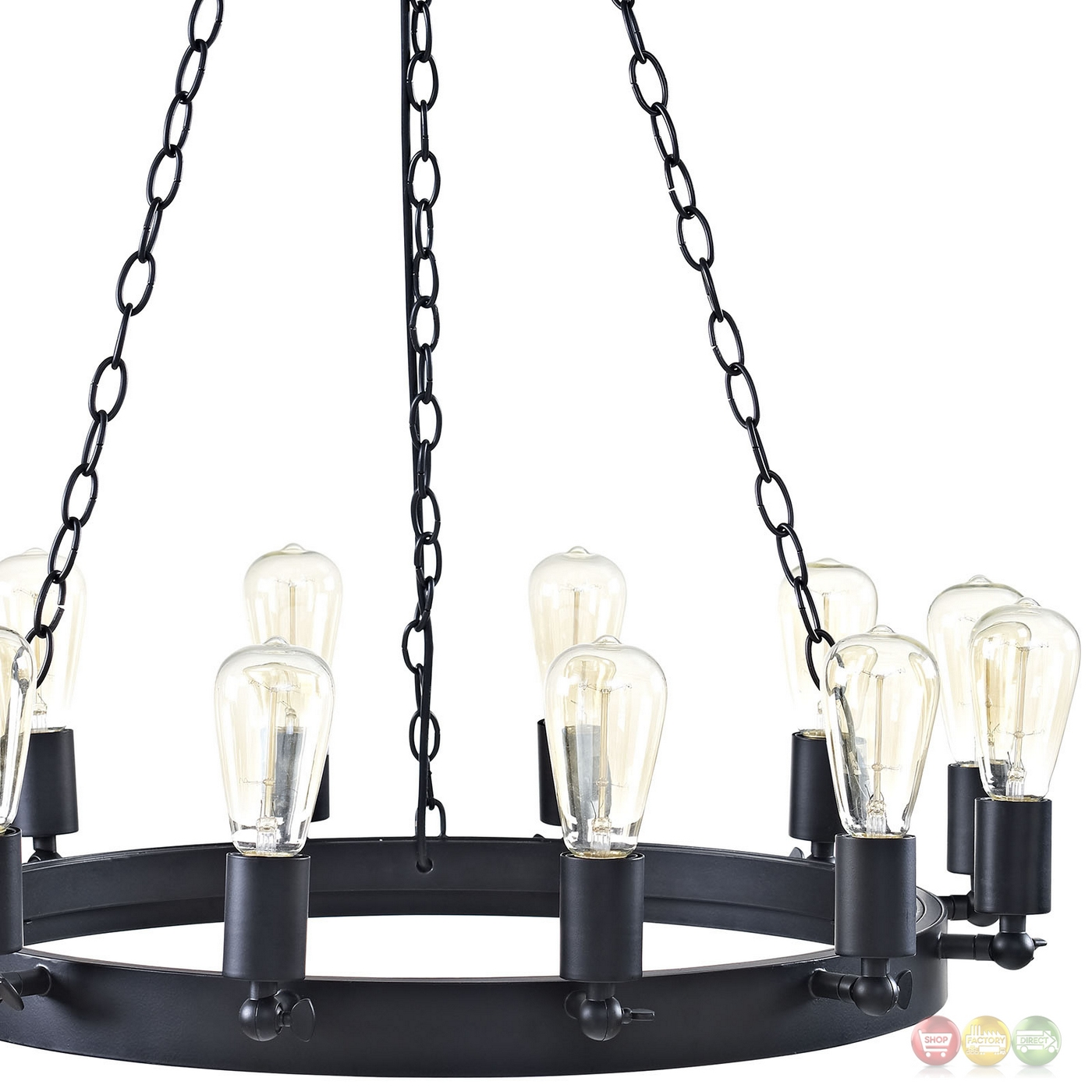 Teleport Industrial 29 Quot Suspension Style 12 Bulb