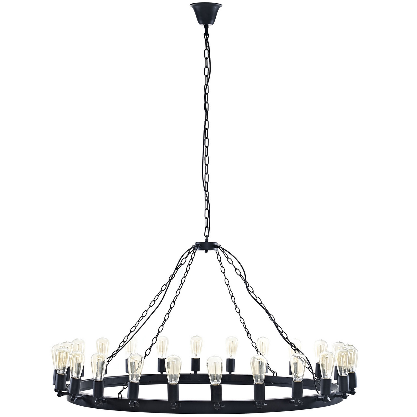 Teleport Industrial 52 Quot Suspension Style 24 Bulb