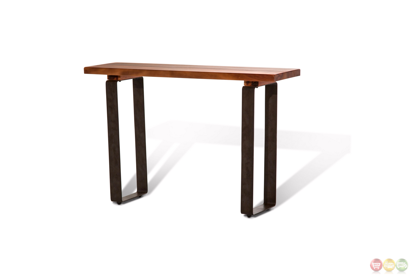 Telluride Rustic Country Style Mahogany Coffee Table With