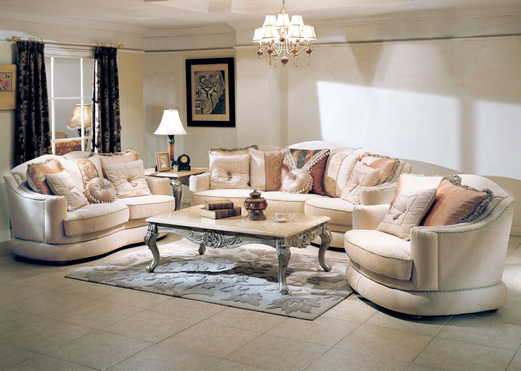 Living room sets luxury modern house for Upscale living room furniture