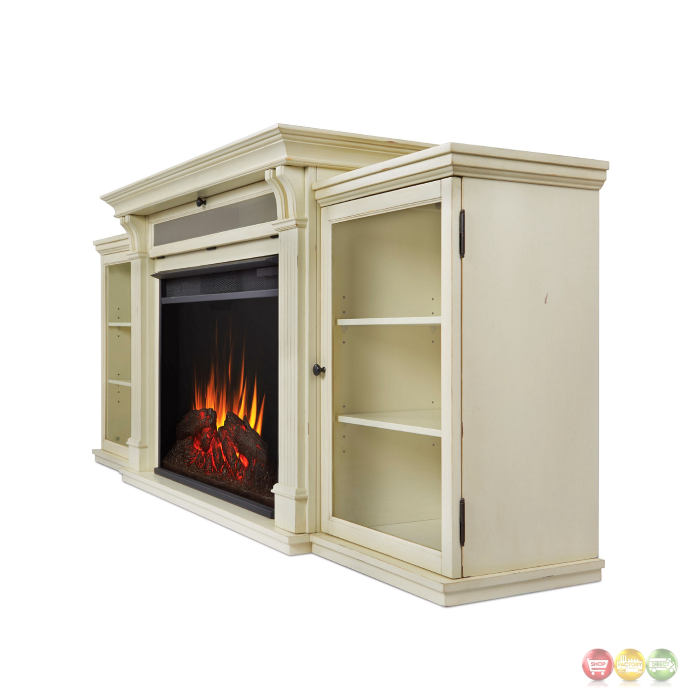 Tracey Grand Entertainment Center Electric Fireplace In