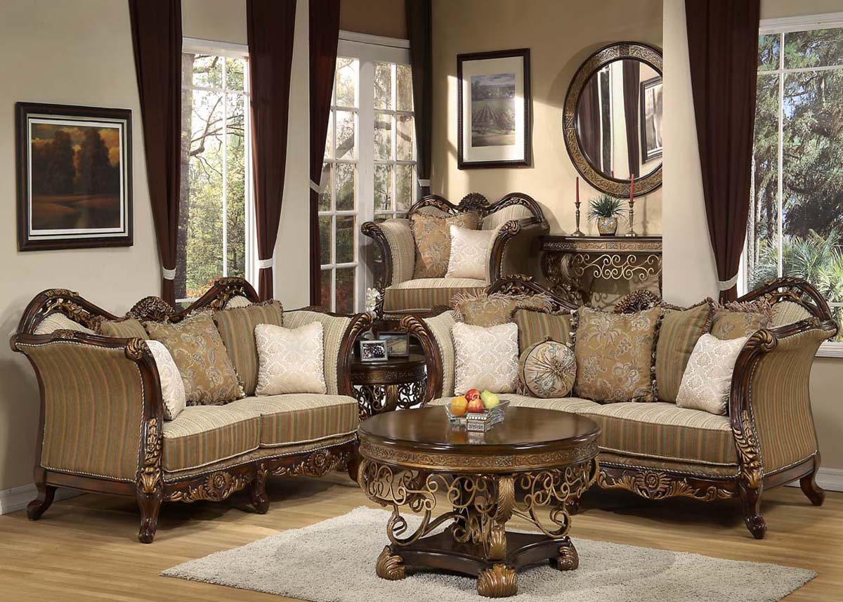 Traditional Living Room Furniture Sets 1200 x 857