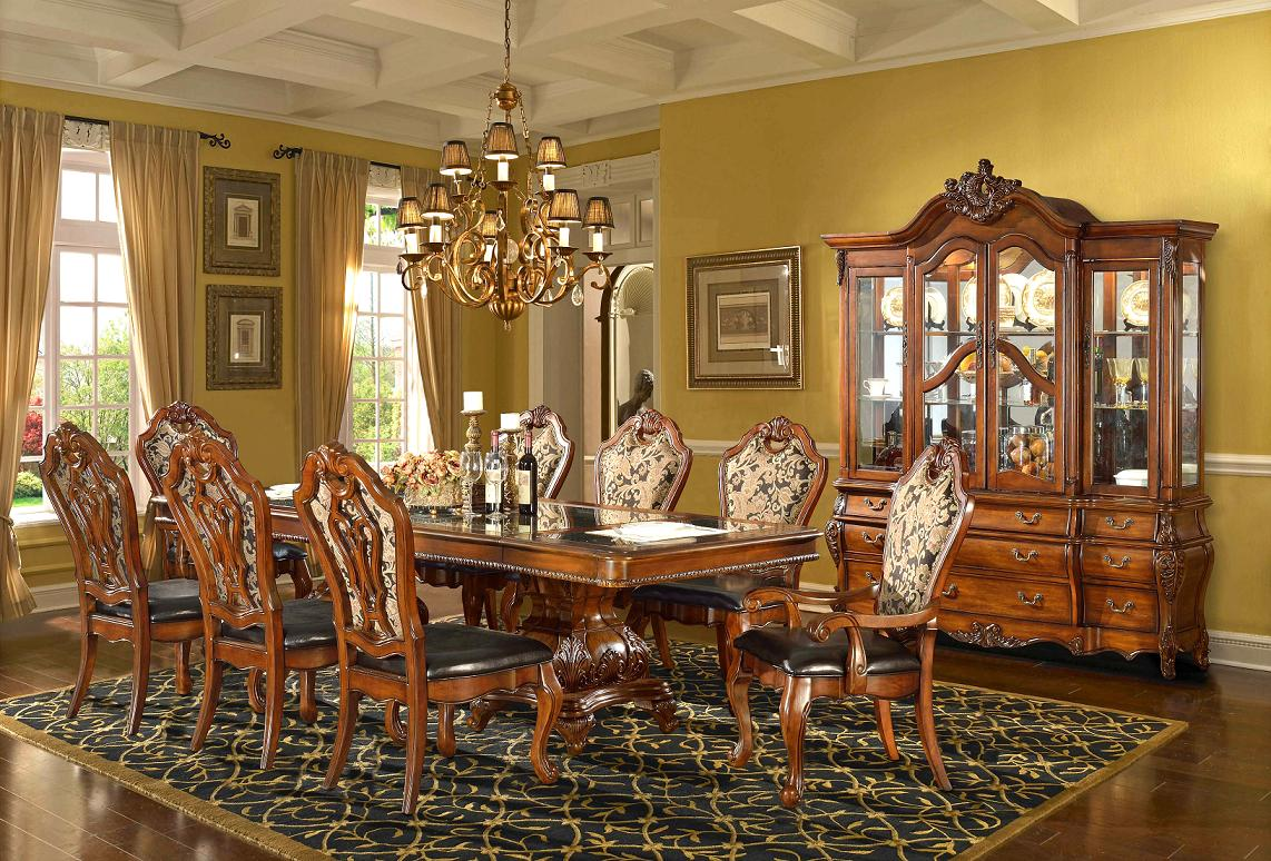 Pics Photos Elegant Formal Dining Room Design With Wainscoting Crown Molding