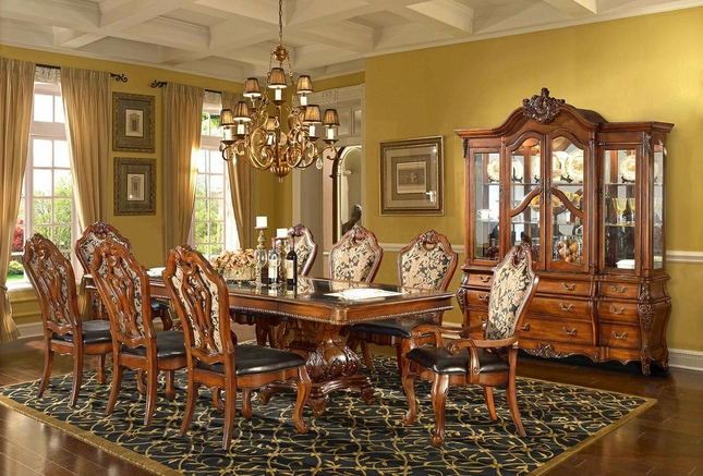 traditional formal dining room set homey design free shipping
