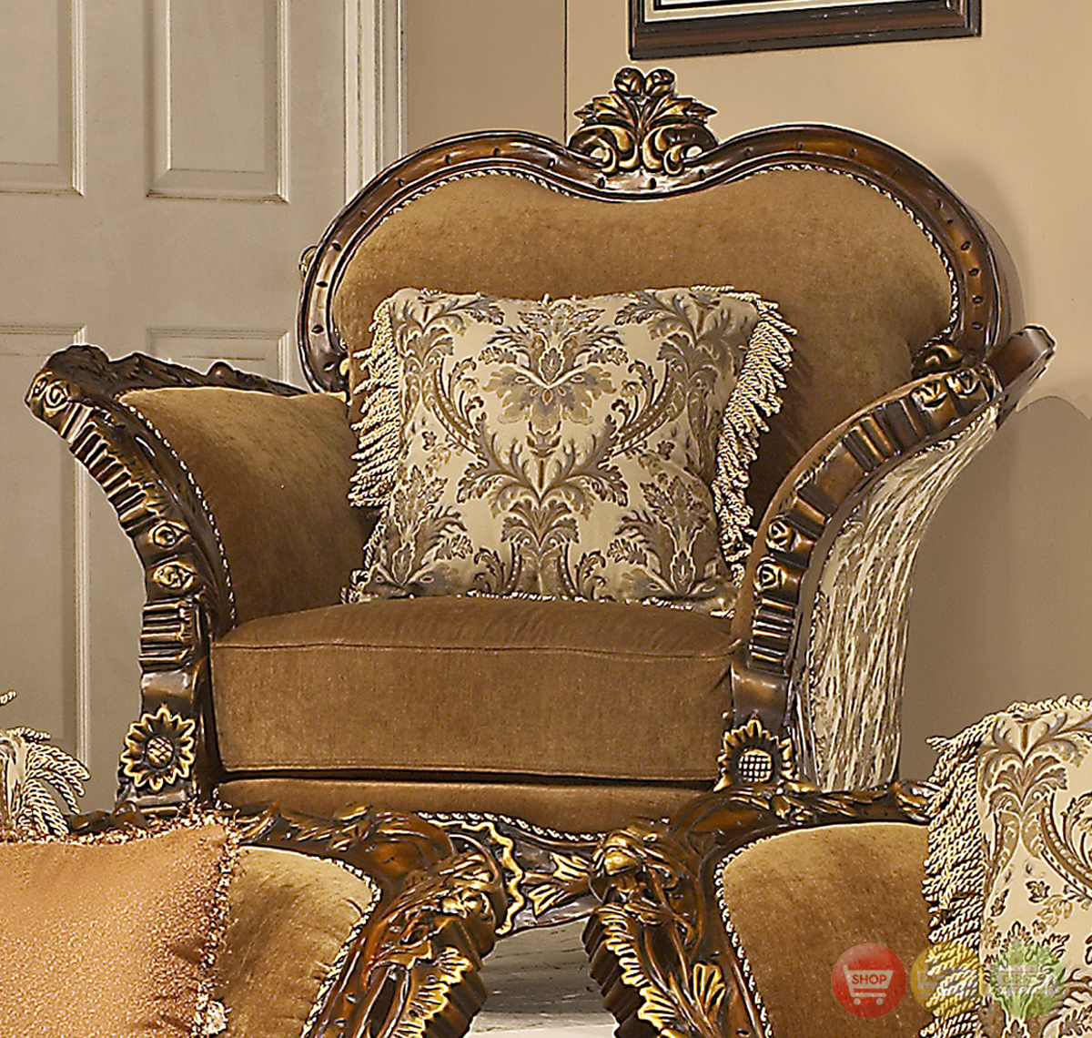 Formal Furniture: Traditional Formal Living Room Furniture Collection HD-260