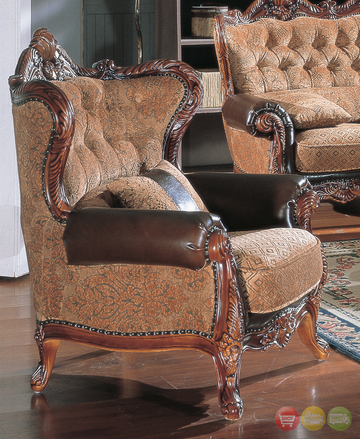 Traditional Sofas Living Room Furniture: Living Room