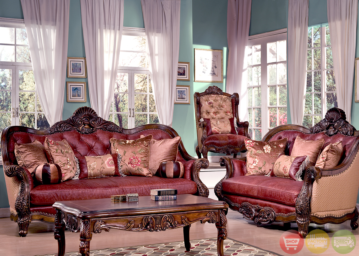 Traditional Luxury Formal Living Room Furniture Sofa Set Hd 201 Kd Apps Dir