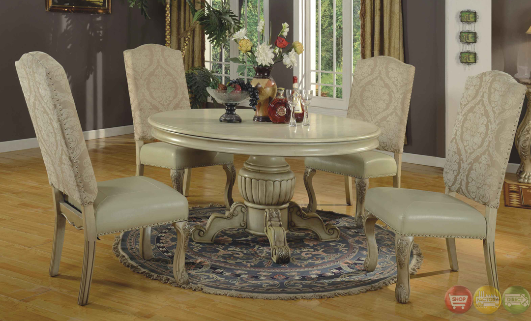 best white dining room sets formal contemporary