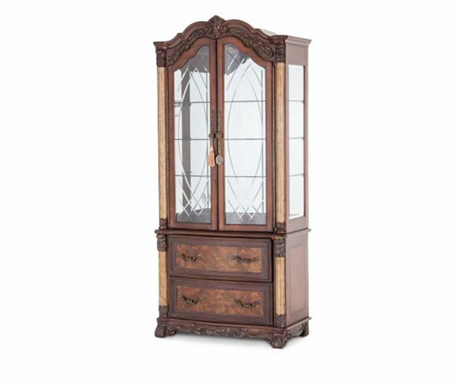 Michael Amini Victoria Palace Traditional Style Display Cabinet by AICO