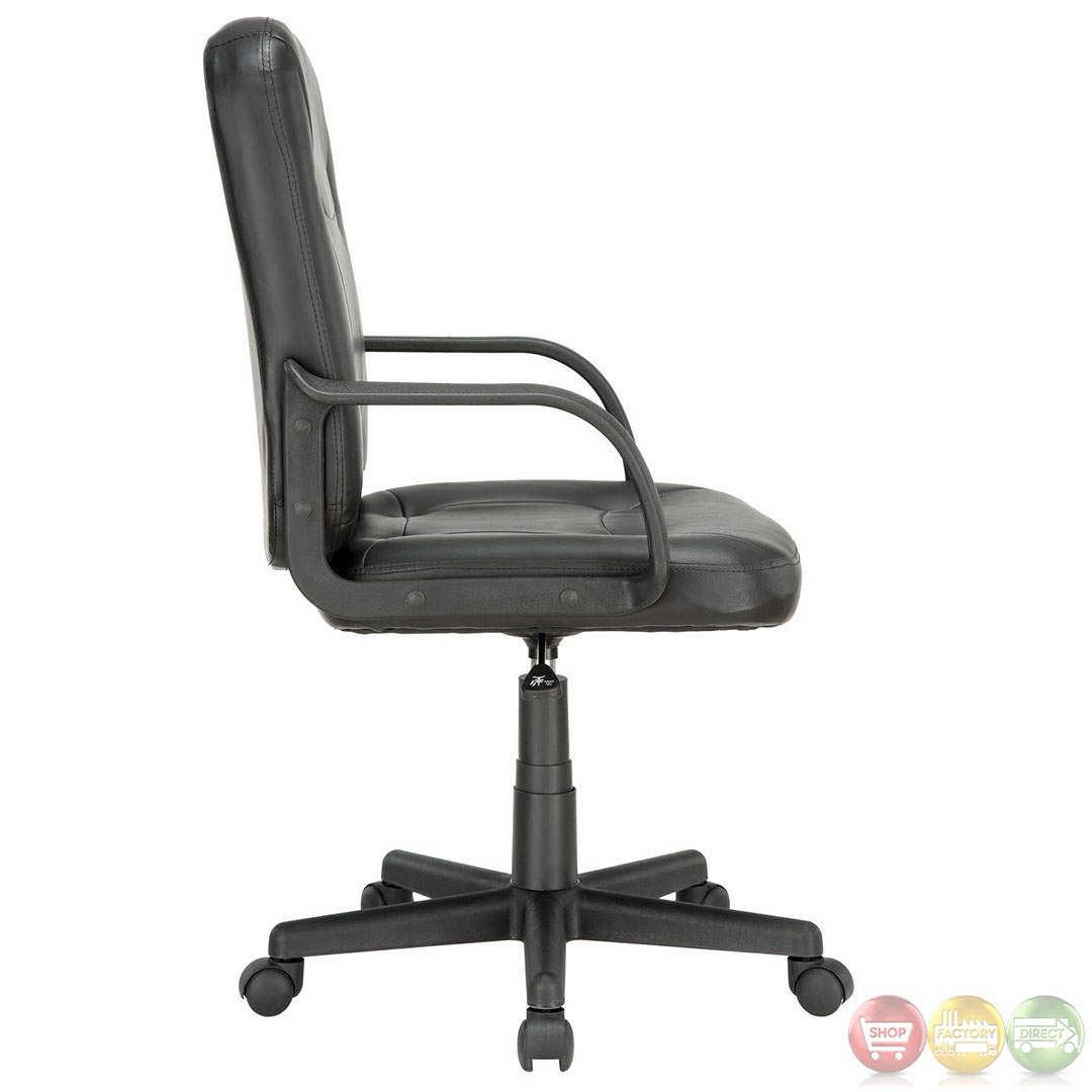 Turbo Contemporary Modern Mid Back Padded Office Computer Chair With 360 Degr