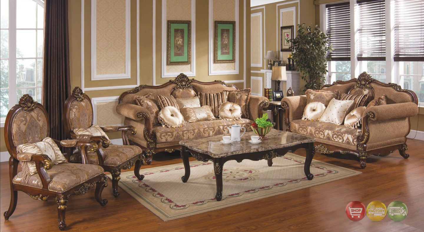 Tuscan Villa Traditional Formal Sofa Set : tuscan villa traditional formal sofa set 27 from shopfactorydirect.com size 1440 x 788 jpeg 294kB