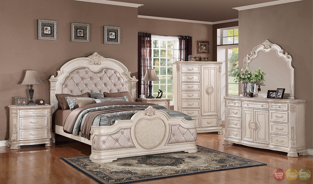 distressed bedroom furniture sets  unity antique traditional