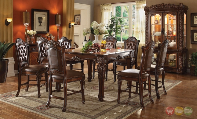 Vendome 5pc Formal 54 Quot Square Counter Height Dining Table