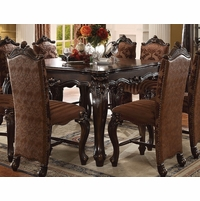 "Versailles Formal Cherry Oak 56"" Square Counter Height Dining Table"