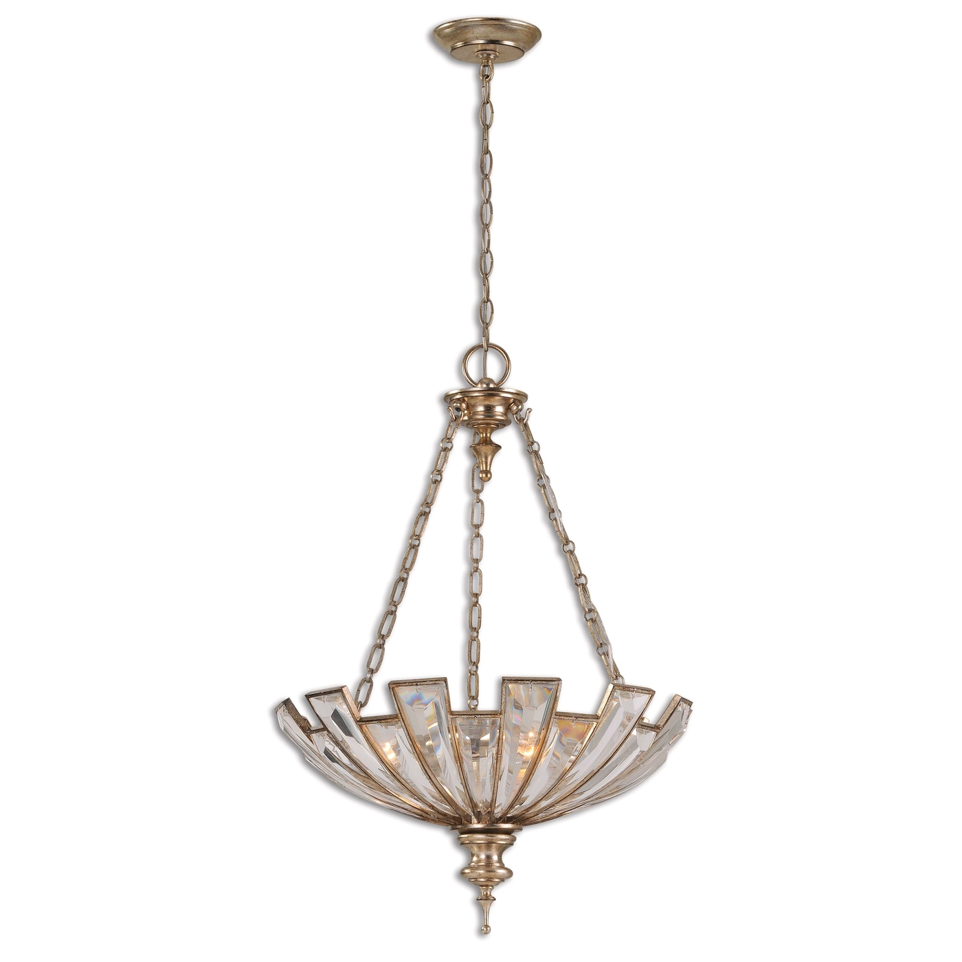 vicentina transitional 3 light pendant 21989