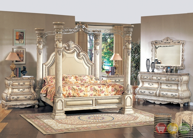 california king poster canopy bed traditional bedroom furniture