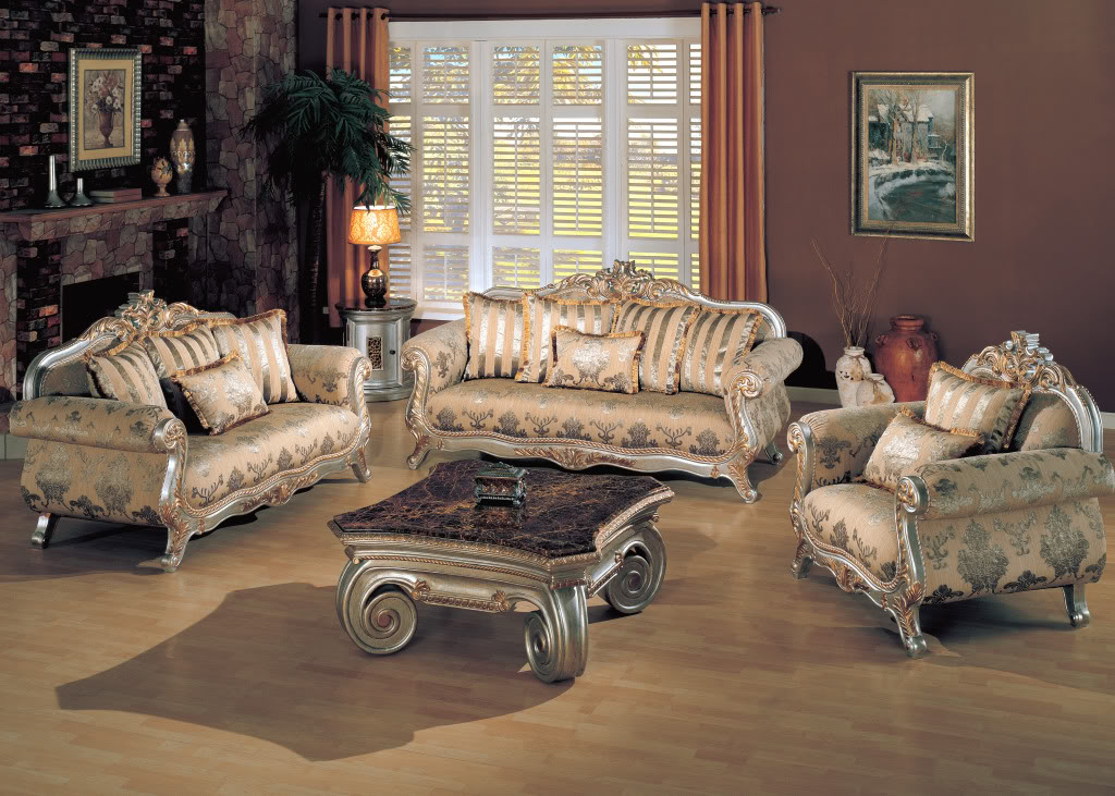 Victory Opulent Formal Living Room Furniture Collection