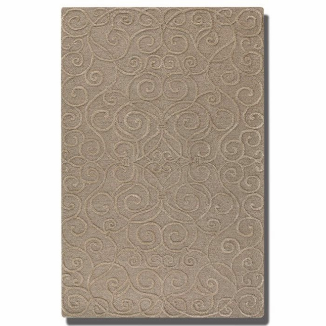Vienna Dark Taupe Hand Tufted Wool Rug 73041