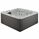 Vista Acrylic Spa 78 x 78 110v Plug & Play Hot Tub w/ Lounger