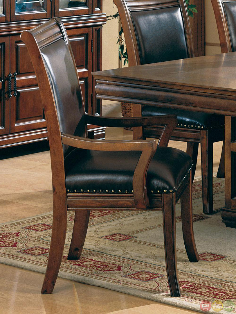 Westminister Cherry Finish 7 Piece Dining Room Set