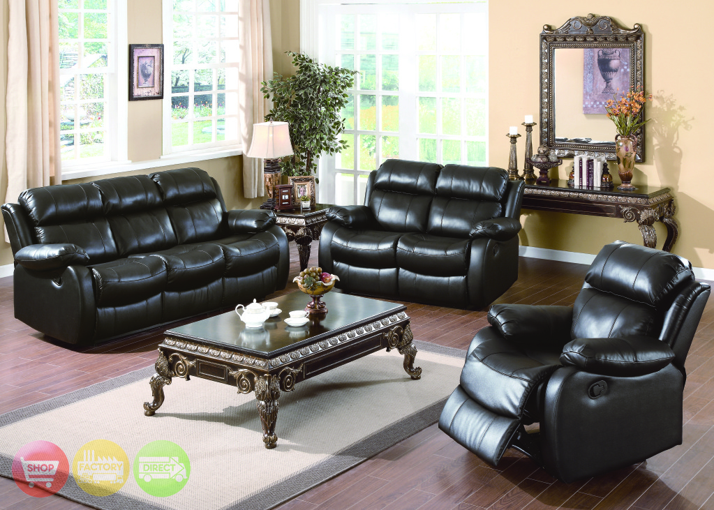 living room set wayfair italian leather living room set in black