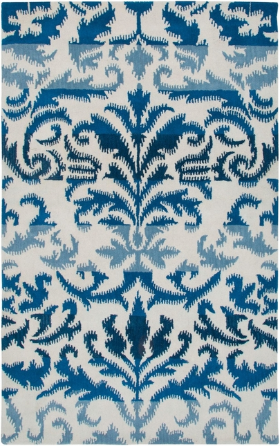 Rizzy Rugs White Traditional Hand Tufted Area Rug Volare VO2584