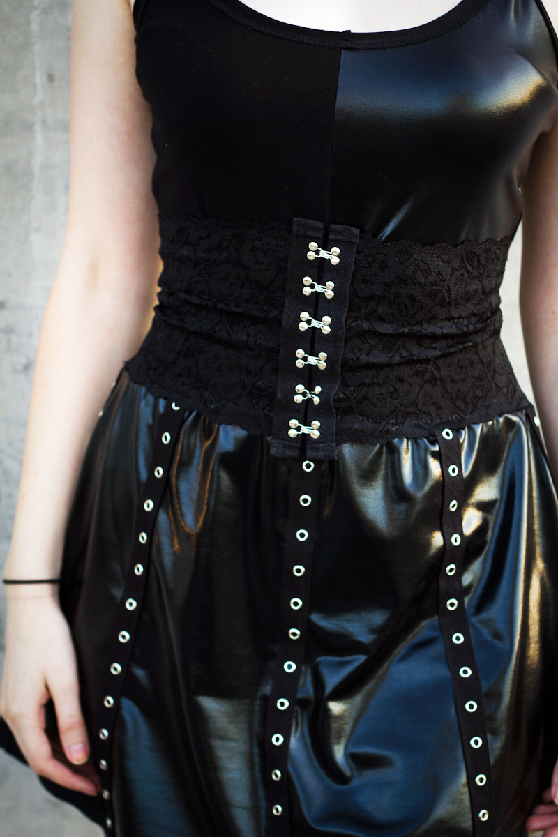 how to make a corset belt