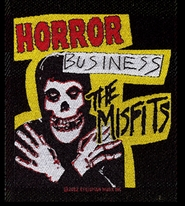"Misfits ""Horror Business"" Embroidered Patch"