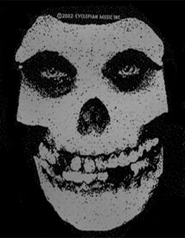 Misfits (Skull) Embroidered Patch
