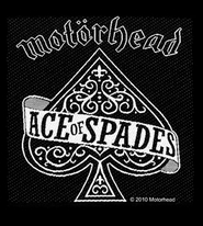"Motorhead ""Ace of Spades"" Embroidered Patch"