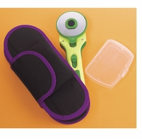 60mm Rotary Cutter Case Purple