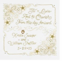 A Wedding Promise Crewel Embroidery Kit