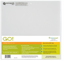AccuQuilt GO! Fabric Cutter Cutting Mat 10inx10in