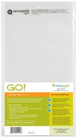 AccuQuilt Go Fabric Cutter Cutting Mat 6inx12in