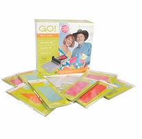 AccuQuilt Go Fabric Cutter Mix & Match Starter Set