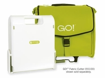 AccuQuilt Go Fabric Cutter Tote Lime Green