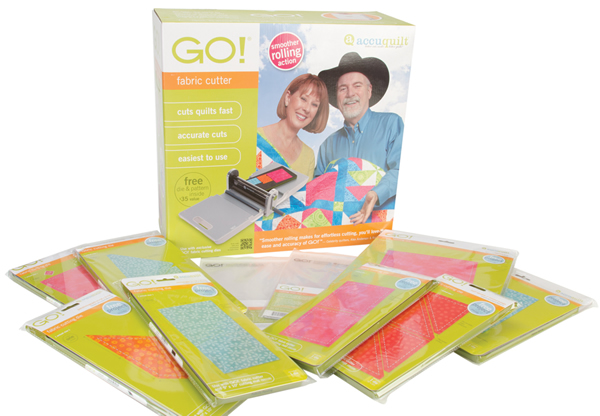 AccuQuilt Go Fabric Cutters, AccuQuilt Go Dies & AccuQuilt Go Supplies