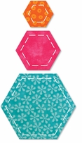 AccuQuilt GO! Fabric Cutting Dies Hexagons
