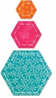 AccuQuilt Go Fabric Cutting Dies Hexagons