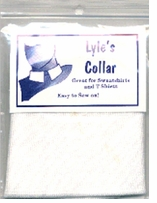 Adult Rugby Collar White